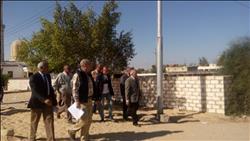 تجديد خط الكهرباء الرئيسي في قرية الروضة بشمال سيناء