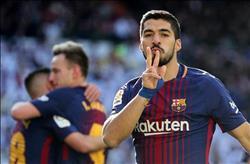 ماذا قال سواريز عقب فوز برشلونة في «كلاسيكو الأرض»؟