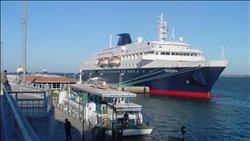 استئناف الحركة الملاحية بميناء نويبع بعد تحسن الأحوال الجوية