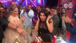 فيديو.. غادة عادل تحتفل بعيد ميلادها في كواليس «تعاشبشاي»