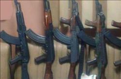 ضبط 16 قطعة سلاح في حملة أمنية بالمنيا