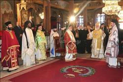 صور| محافظ القاهرة يشارك الروم الأرثوذكس احتفالات عيد الميلاد المجيد