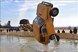 معلومات مجلس الوزراء يشيد بنموذج محافظة البحيرة لمواجهة السيول