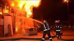 السيطرة علي حريق هائل بعدد من المحال في الزقازيق