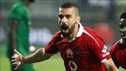 عبد الله السعيد يحرز الهدف الأول للأهلى أمام وادى دجلة