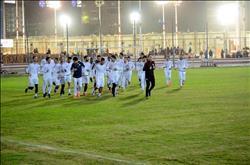 «محمود علاء» يحضر مباراة الزمالك والمقاولون العرب باستاد القاهرة