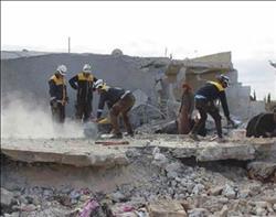 ارتفاع حصيلة ضحايا القصف على ريف إدلب لـ22 قتيلا
