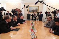 الجربا يلتقي لافروف ويبحثان الحوار السوري السوري