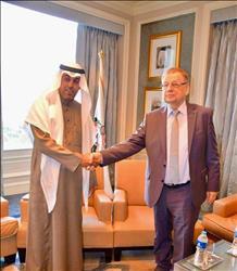 رئيس البرلمان العربي يبحث أزمة القدس مع السفير الروسي
