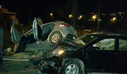 عاجل| إصابة 8 مواطنين في تصادم سيارتين أعلى كوبري الجلاء