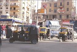 ٥ ملايين «توك توك» بشوارع المحروسة تنشر الفوضى وتتحدى القانون