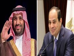 الرئيس السيسي يتلقى اتصالا من ولي العهد السعودي لبحث مستجدات الأوضاع