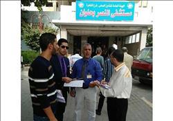 طبيب بمستشفى النصر يوضح الحالة الصحية لمصابي كنيسة حلوان