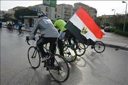 وزارة الرياضة تنظم ماراثوان للدراجات الهوائية من حي الاسمرات للعاصمة الإدارية الجديدة