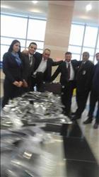 إحباط محاولة تهريب «شعر مستعار» بمطار القاهرة