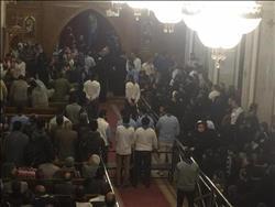 كنيسة العذراء تستعد لاستقبال جثامين شهداء كنيسة حلوان
