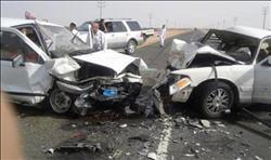 مصرع وإصابة 16 شخصا في حادث تصادم بطريق «أسيوط - البحرالأحمر»