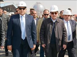 وزير البترول يفتتح خط أنابيب البوتاجاز بسوهاج