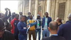 وفد الإعلاميين الأفارقة يزور قلعة صلاح الدين