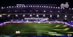 """"""" برج العرب"""" يتزين  لاستقبال فريق اتليتكو مدريد"""