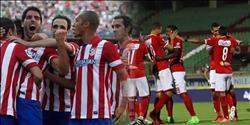 «جاميرو» يحرز هدف التعادل لاتليتكو مدريد