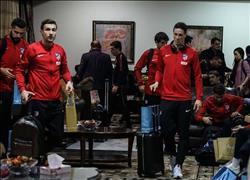 اتليتكو مدريد يتوجه لمطار برج العرب للعودة لإسبانيا بعد مواجهة الأهلي