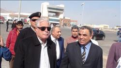 محافظ جنوب سيناء يتفقد ميناء نويبع