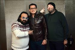 كواليس تسجيل أغنية فيلم «خلاويص» لأحمد عيد وأبوالليف