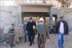 محافظ جنوب سيناء يتفقد عددا من المشروعات جاري تنفيذها بشرم الشيخ