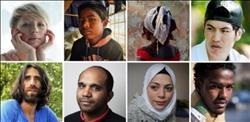 بالصور .. الحنين للوطن والأمن والاستقرار.. أمنيات اللاجئين فى 2018