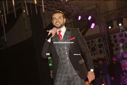صور.. سامو زين يتألق فى حفل رأس السنة بالقاهرة