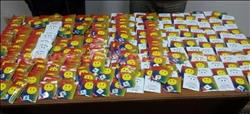 ضبط 1000 كيس «فودو» داخل كارتونة شيبسى بالقاهرة