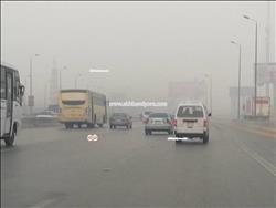شبورة مائية تغطي سماء القاهرة والجيزة