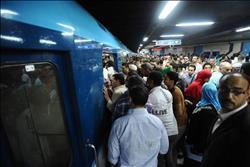 مشادة في مترو «عرابي» بسبب تحرش راكب بسيدة
