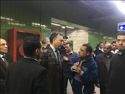 وزير النقل: 200 مليار جنيه لتطوير واستكمال شبكات مترو الأنفاق |صور