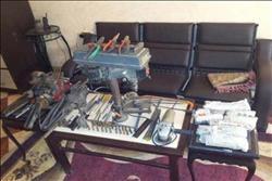 ضبط عامل استغل ورشته لتصنيع «الأسلحة النارية» بشبرا الخيمة