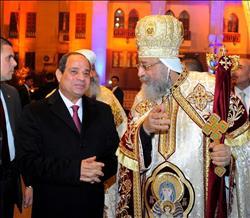 «الرئيس في الكاتدرائية»..3 زيارات حملت رسالة «السلام والوحدة»