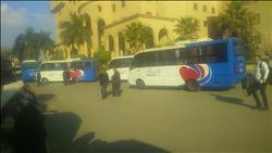 30 أتوبيساً بالعباسية لنقل المصلين والإعلاميين إلى كاتدرائية العاصمة الإدارية الجديدة