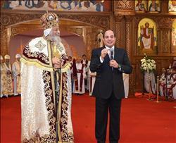 180 يوما «أشغال شاقة» حققت وعد الرئيس ببناء كاتدرائية «ميلاد المسيح»