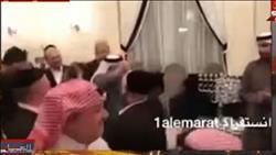تامرعبدالمنعم يعرض وصلة رقص لقطريين مع اسرائيليين.. «فيديو»