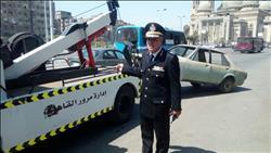 5475 مخالفة مرورية بالقاهرة في يوم