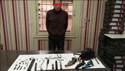 مباحث القاهرة تضبط مسجل خطر يصنع أسلحة نارية