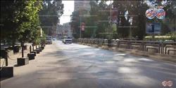 بالفيديو .. سيولة مرورية بشوارع القاهرة فى عيد الأقباط