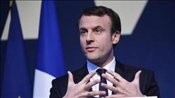 ماكرون يجدد موقف بلاده الداعم لحل الدولتين خلال لقائه وفد فلسطيني بباريس