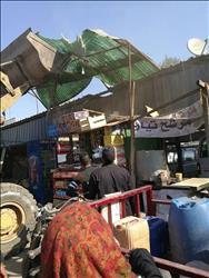 حملة مكبرة لإزالة التعديات على أملاك الدولة بشرق شبرا