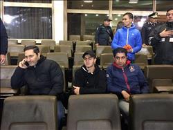علاء مبارك يؤازر الدراويش في ستاد القاهرة