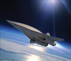بالفيديو والصور: لوكهيد مارتن تنتهي من بناء جسم طائرة أسرع من الصوت
