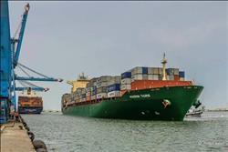 إعفاء حاويات ميناء دمياط من الرسوم الإضافية