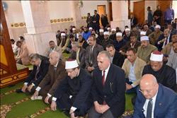 وزير الأوقاف يفتتح مسجد شهداء بئر العبد في أسوان الجديدة