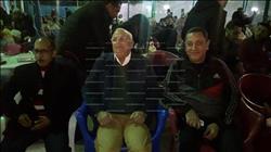 محافظ بورسعيد يتابع «السوبر» مع أبناء المدينة